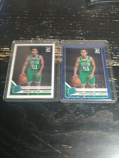 Tremont Waters Rated Rookie Blue Velocity Boston Celtics 2019 Optic + Base