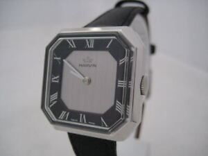 NOS NEW SWISS VINTAGE MECHANICAL HAND WINDING MARVIN ANALOG WOMEN'S WATCH 1960'S