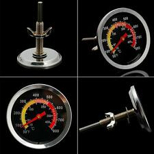 Smoker Grill Stainless Steel Thermometer Temperature 50-400℃ Barbecue BBQ Gauge