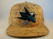 NHL San Jose Sharks Snapback Hat Cap Zephyr Cork Dynasty