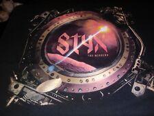 Vintage Styx The Mission concert Xl t shirt