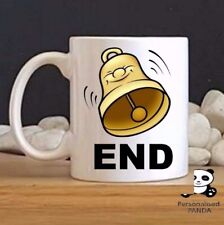 "personalised,Rude, novelty ""Bell End"" mug birthday, christmas, secret santa gift"