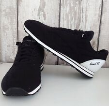 Reebok Classic Trainers Sneakers Size 45.5 UK 11 30th Anniversary Black Felt