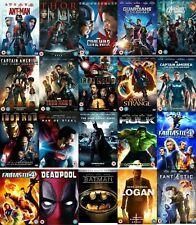 Superhero DVD Film Multi Movie Collection Marvel DC Avengers Guardians Galaxy