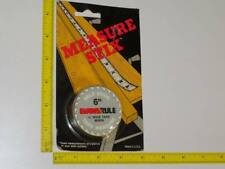 Evans Rule 6 ft. Self Stick Tape Measure Stix Ruler USA For Shop Uses M66W