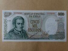 Chile 5000 Escudos (UNC) : 0179249