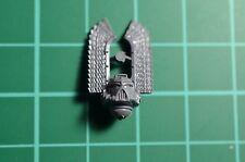Warhammer 40000-Space Marines-Déco chapitre-Dark angels-Tête avec plumes
