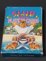 VINTAGE Club Camel Cigarettes Official Playing Cards 1992 NOS,