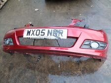 ROVER 45 MG Zs FRONT BUMPER RED CEV 2004 TO 2006 APPROX ( face lift )