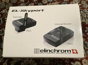 Elinchrom Skyport universal Trigger Set EL19360 NEW