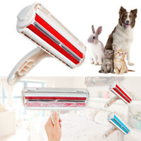 Pet Dog Cat Hair Remover Fur Roller Sofa Clothes Cleaning Brush Comb Reusable