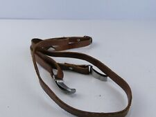 VINTAGE BROWN LEATHER THIN CAMERA  STRAP FOR YASHICA MAT RR60