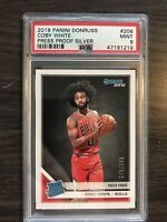 2019-20 Donruss Rated Rookie Coby White Press Proof Silver /349 Chicago Bulls RC