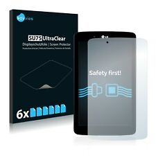 6x Savvies Screen Protector for LG Electronics G Pad 7.0 Ultra Clear