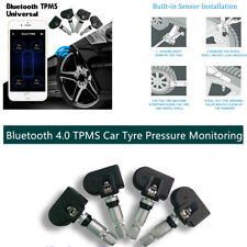 TPMS Bluetooth 4.0 For Andriod & IOS , 4 Sensors Tyre Pressure Monitoring System