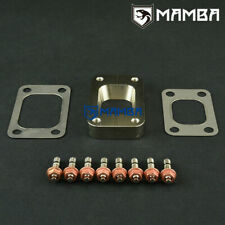 MAMBA T25 T28 to T3 CNC Turbo Exhaust Manifold Flange Adapter + Gasket + Stud UK