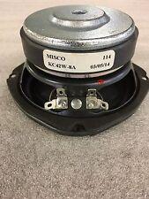 """Outdoor speaker Misco woofer KC42W-8A 40 watt 8 ohm """"NEW"""""""