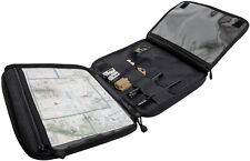 Black Tactical Map Case Board Enhanced Scout Document Notebook Holder Cover