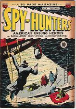 Spy-Hunters Comic Book #4, ACG 1950 VERY GOOD+