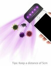 Portable Pocket Uv Sterilizer Disinfection Sanitizer 99.9% Bacteria Uvc iPhone