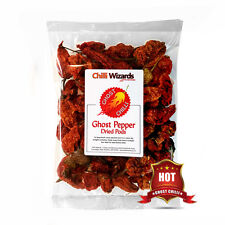 Dried Chilli  Indian Naga Bhut Jolokia Pods - Ghost Chilli 50g. Buy 4 pay for 3
