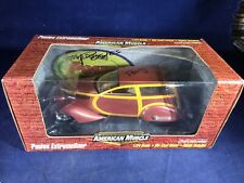 V1-22 AMERICAN MUSCLE POSIES EXTREMELINER AUTOGRAPHED 1:24 SCALE DIE CAST CAR