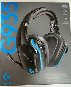 Logitech G935 Wireless 7.1 Surround Sound Gaming Headset - LIGHTSYNC - CLEANED