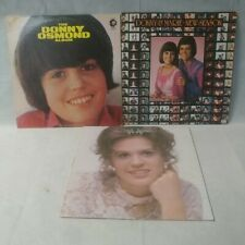 3 Donny & Marie Osmond Vinyl Record Lp Lot Album New Season 70S Pop Rock Tv Show