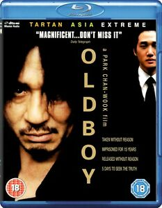 Oldboy (2003) Blu-Ray BRAND NEW Free Ship (USA Compatible/English Packaging)