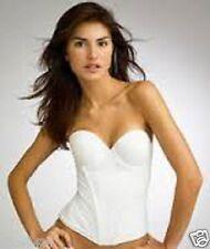 JEZEBEL Caress Bustier Bridal Bra 32533 White Strapless 34DD NEW Bonus offer