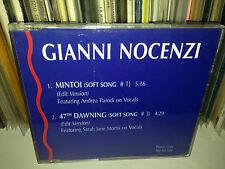 GIANNI NOCENZI RARO CD SINGOLO PROMO 1993 BANCO MUTUO DEL SOCCORSO ANDREA PARODI