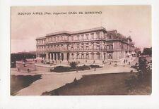 Buenos Aires Casa de Gobierno Vintage Postcard Argentina 159a