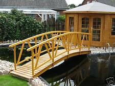 Leimbinder, Teichbrücke, Gartenteich, Teichbrücken, Holzbrücke, Koiteich.