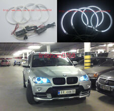 4X Excellent Halo Ring CCFL Angel Eyes kit For BMW X5 e70 2007 2008 2009 2010