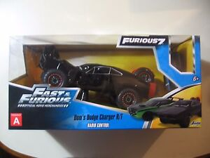 Fast Furious 7 R/C Radio/Remote Control Car (Wrecked Dom's Dodge Charger) NEW