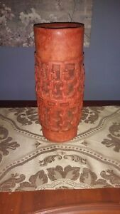Reproduction Smithsonian National Museum 1954 Aztec Pottery Vase