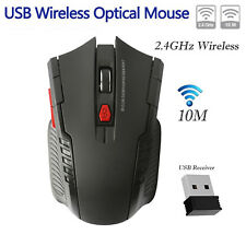 2.4Ghz Mini Wireless Optical Gaming Mouse Mice & USB Receiver For PC Laptop