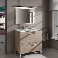 Mueble de Baño Con Puerta Abatible + Cajón + Lavabo + Espejo Modelo Urban Nature