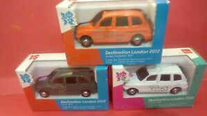 Olympics 2012 Set of 3 London Taxis