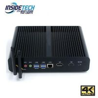 7th Gen. Silent Mini PC Intel Core i7 7500U Barebone