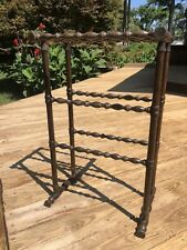 Vintage Antique Quilt Drying Linen Wooden Rack 18 X 12 X 29