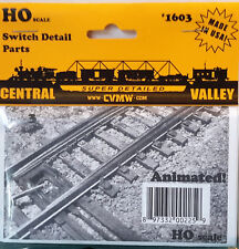 HO/HOn3 Scale Central Valley 'Switch Detail Parts' Kit #1603