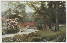 Cumbria postcard - Peller Bridge, Rydal - P/U 1905 (A430)