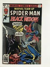 Marvel Team Up #82 Vf/Nm Spiderman Black Widow - Will Combine Shipping