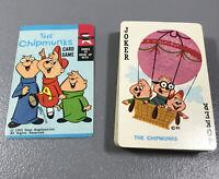 Vintage 1963 Ross Bagdasarian The Chipmunks Card Game -Ed-U-Cards