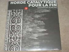 HORDE CATALYTIQUE POUR LA FIN - GESTATION SONORE- NEW - LP RECORD