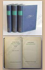 Gotthelf Bitzius Große deutsche Ausgabe 3 Bde um 1940 ua Anne Bäbi Zeitgeist xz