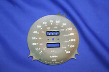 Triumph TR7 New Speedometer Face Plate SN 5365/00S