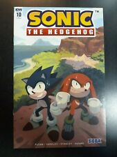 SONIC THE HEDGEHOG #10 1:10 Nathalie Fourdraine Variant IDW Comic Book NM