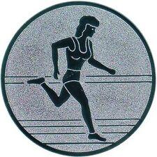 100 Leichtathletik Embleme 50mm #7 (für Medaillen Pokale Pokal Medaille Emblem)